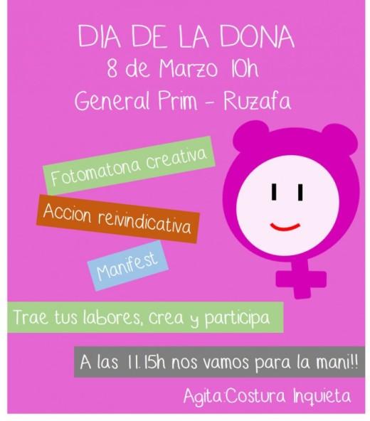 cartel dia dona