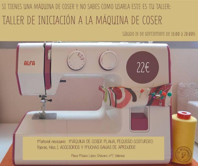 conocer maquina de coser artesanario